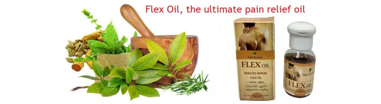 Flex oil banner