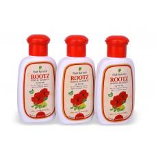Rajah Ayurveda - Rootz- Herbal Shampoo A Purely Natural Hair Treatment, 100 ml (Pack of 3 Bottles)